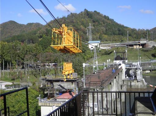 和知ダム(設置完了時写真)
