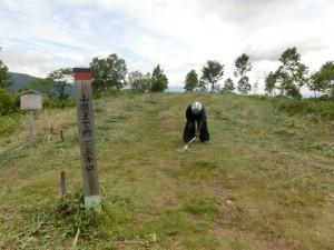 28年07月05日 写真 浪合振興室 登山道整備工事 草刈り (12)